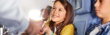 Alexander Hermann creates children's menus for Lufthansa