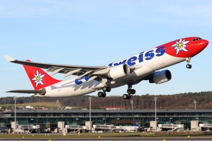 Lufthansa Group's airline Edelweiss offers CO2 offsetting within booking process