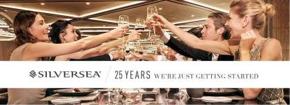 Luxury Cruising: Silversea celebrates silver jubilee