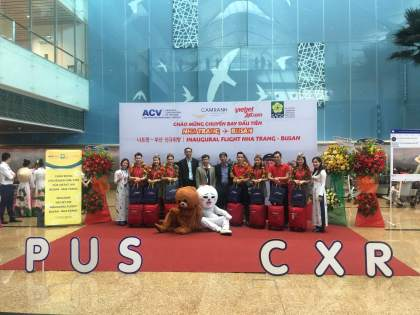 Vietjet launches Nha Trang and Busan route