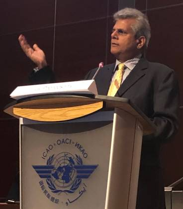 Vijay Poonoosamy at ICAO: Ensuring no country is left behind