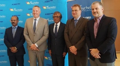 Air Seychelles launches new Airbus A320neo