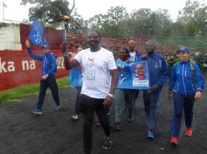 Tanzania Relay: Peace for touris is a corporate social responsibility