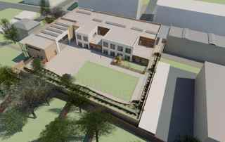 Aerial View Proposed Deer Park Primary School