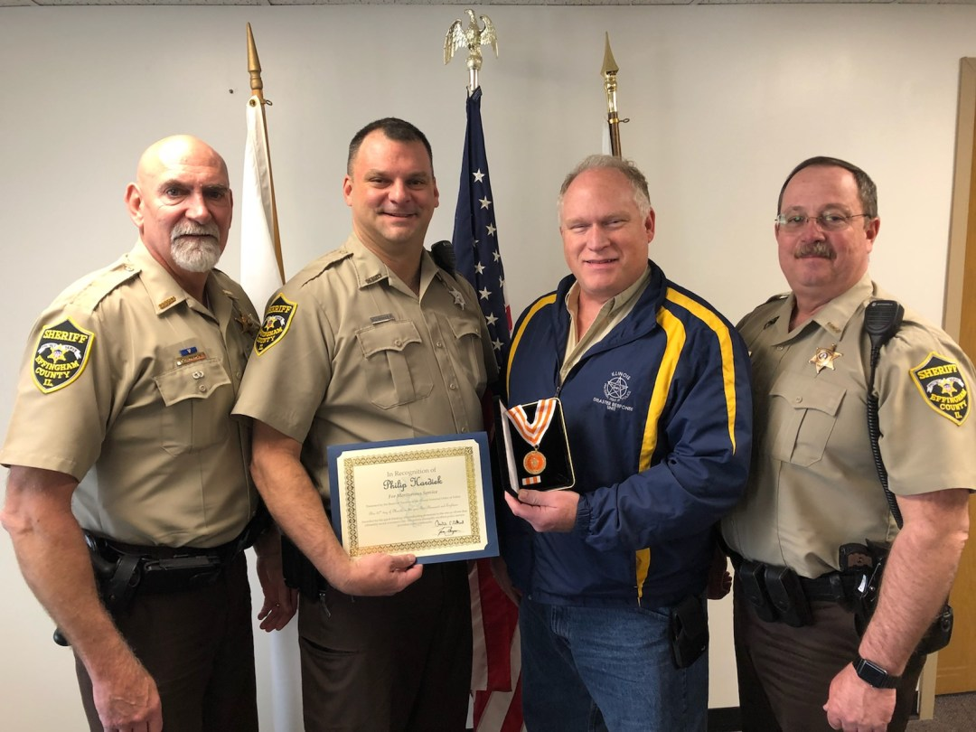 Deputy receives award