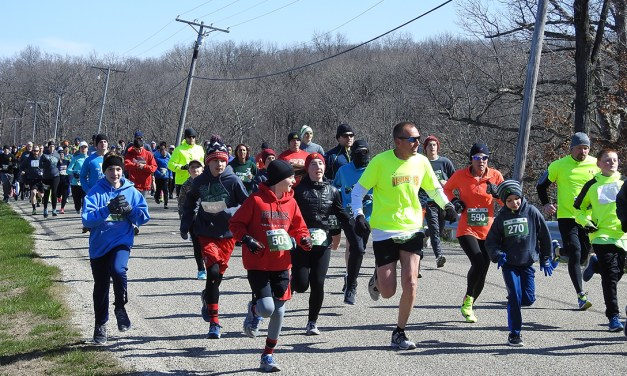 Dam Run provides warmth, bonding on a frigid morning