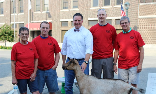 Hess is top goat milking mayor