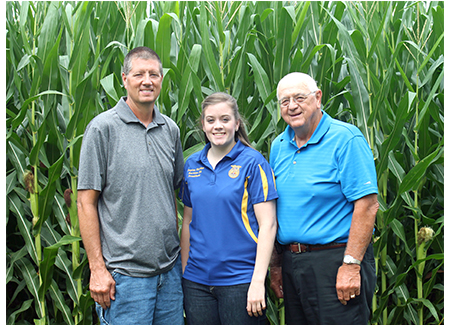 Taylor Hartke continues her family's ag legacy