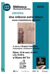 Cartell telers 16 03