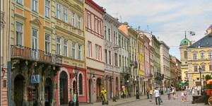 Площадь Рынок Львов поездка во львов