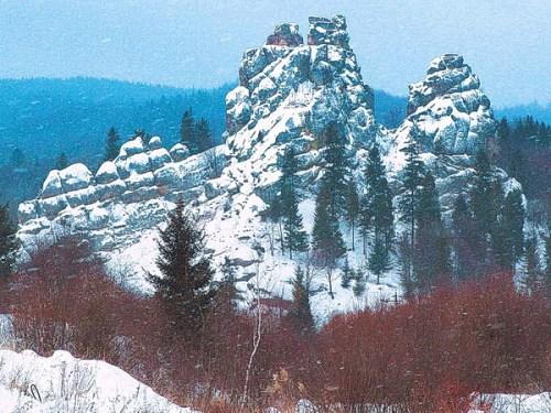 поїздка в Карпати на 1 день /Тустань взимку