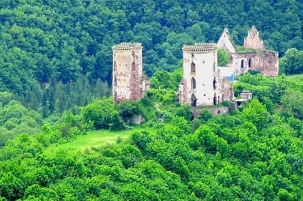 Тернопілля, Нирків, замок
