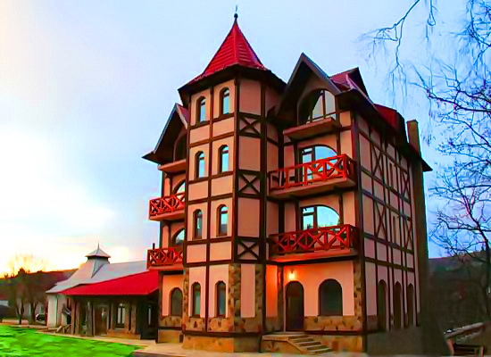 Отель Оксамыт