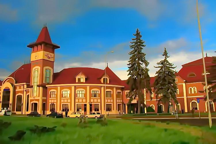 Ужгород, залізничний вокзал