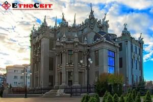Дом с химерами архитектора Городецкого - тур в Киев фото