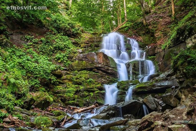 Водопад Шипот, Закарпатье