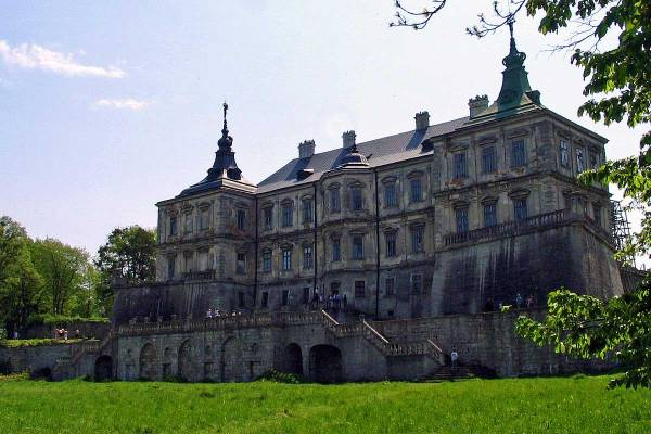 Подгорецкий замок Львовская область