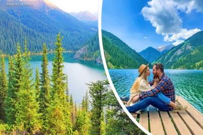 Кольсайские озера Казахстан