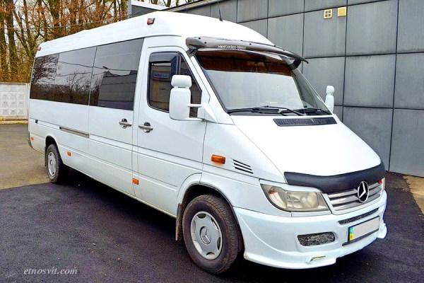 Пасажирські перевезення Mercedes-Benz Sprinter