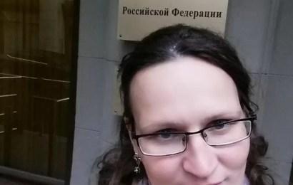 Жительница Нефтеюганска пикетирует московскую приемную Путина