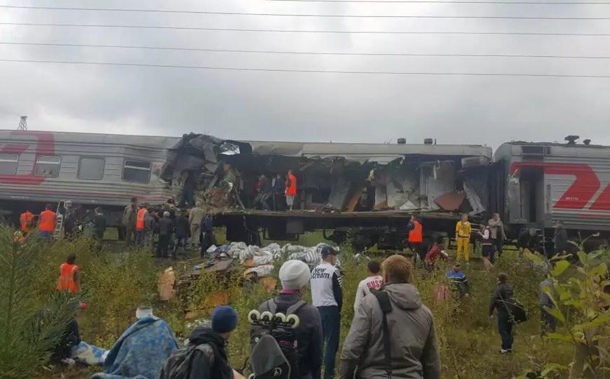 В Югре осудили водителя, протаранившего поезд