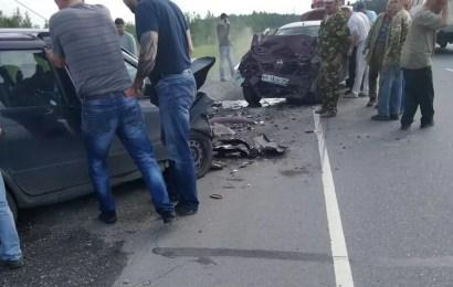 ДТП с пострадавшими на трассе Нефтеюганск-Пойковский