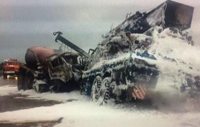 ДТП с погибшим на трассе Нефтеюганск-Пыть-Ях