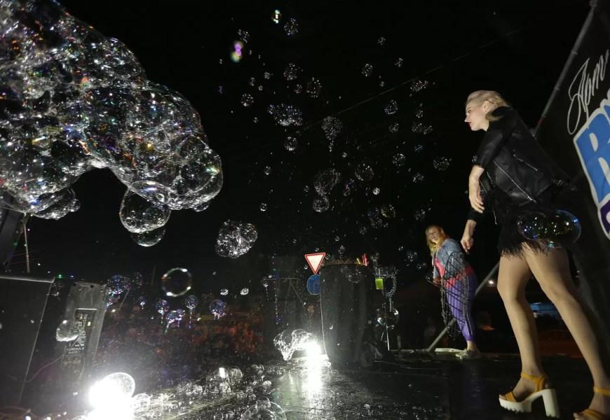 """""""Шоу мыльных пузырей"""""""
