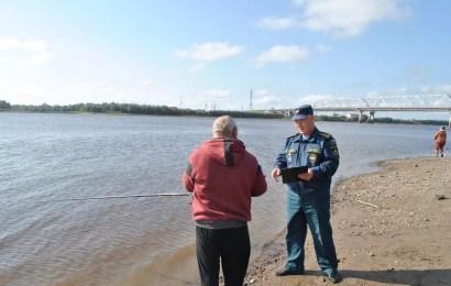 В Югре проходит 3-ий заключительный этап акции «Вода – безопасная территория».