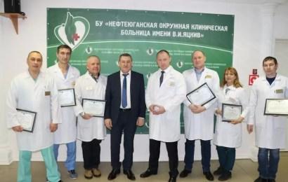 Врачи, спасшие раненных в ДТП 29.12, получили награды