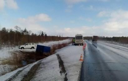 На дорогах Югры за выходные пострадали 7 человек.
