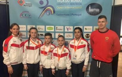 Нефтеюганcкие спортсмены – бронзовые призеры международных соревнований по спортивной аэробике.