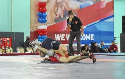 В Нефтеюганске проходит XVI Международный турнир по вольной борьбе на кубок Владимира Семенова