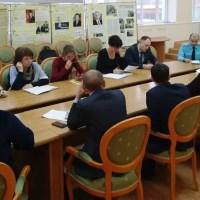 В рамках операции «Новый год» нефтеюганские спасатели провели встречу с главами УК