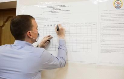 В Нефтеюганске подвели итоги всероссийского голосования.