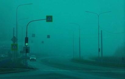 На дорогах Югры опасно: туман и гололед