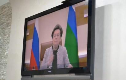Вчера в рамках отчетной встречи доложил губернатору Югры Наталье Комаровой об итогах работы.