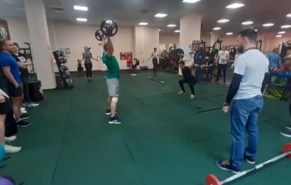 Кроссфит–тренировка в рамках «Недели Качества» прошла в FITNESS BAZA AMG