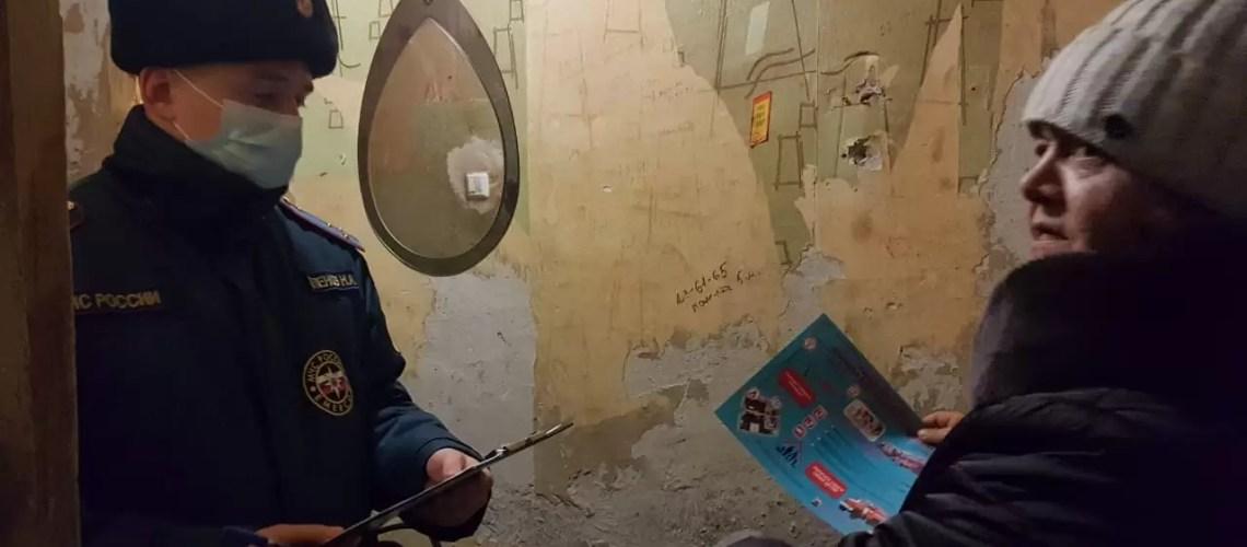 Отдел надзорной деятельности и профилактической работы по городам Пыть-Ях, Нефтеюганск и Нефтеюганскому району в период новогодних праздников проводит совместные профилактические рейды
