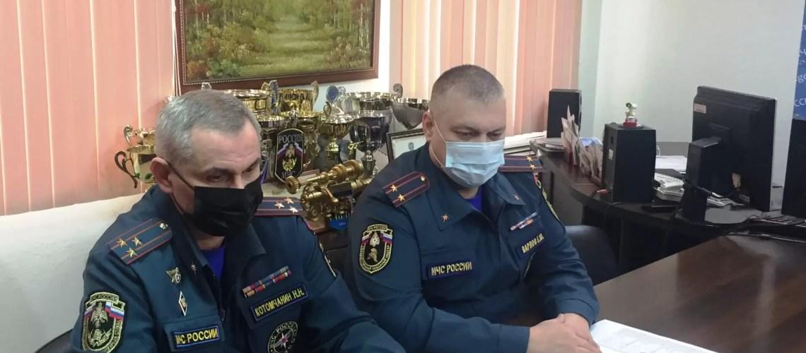 Руководство Нефтеюганского пожарно-спасательного гарнизона провели брифинг с журналистами.