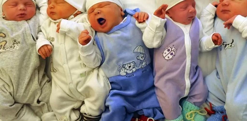 В январе, по данным отдела ЗАГС, в Нефтеюганске на свет появились 95 малышей: 47 мальчиков и 48 девочек.