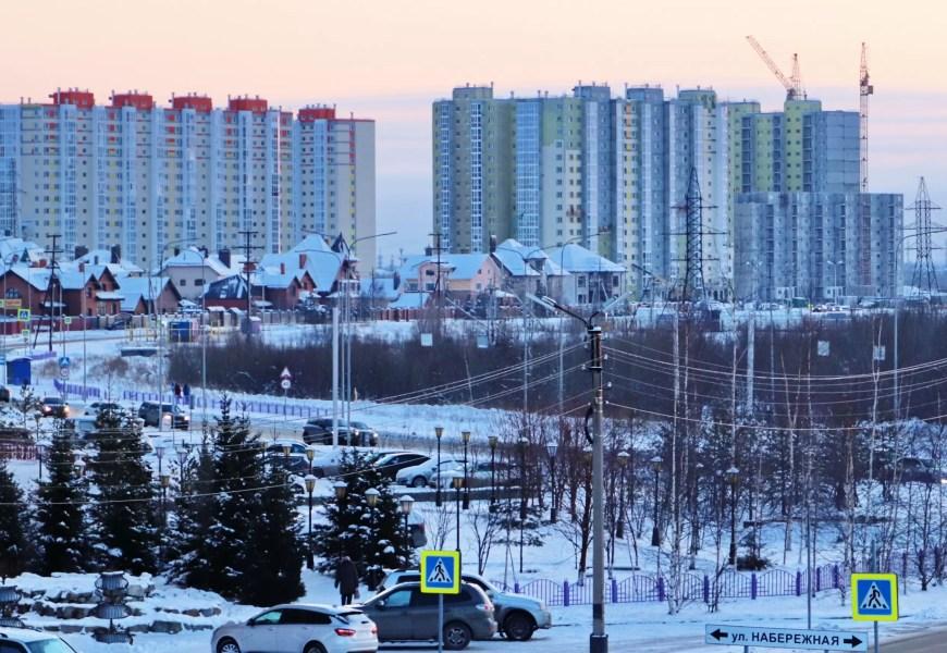 Мэрия Нефтеюганска отчиталась о рекордном количестве построенного в городе жилья в 2020 году