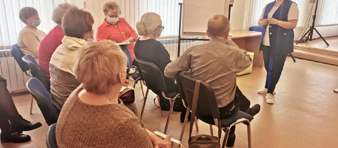 """Вчера в """"Центре молодёжных инициатив"""" прошло обучение волонтёров"""