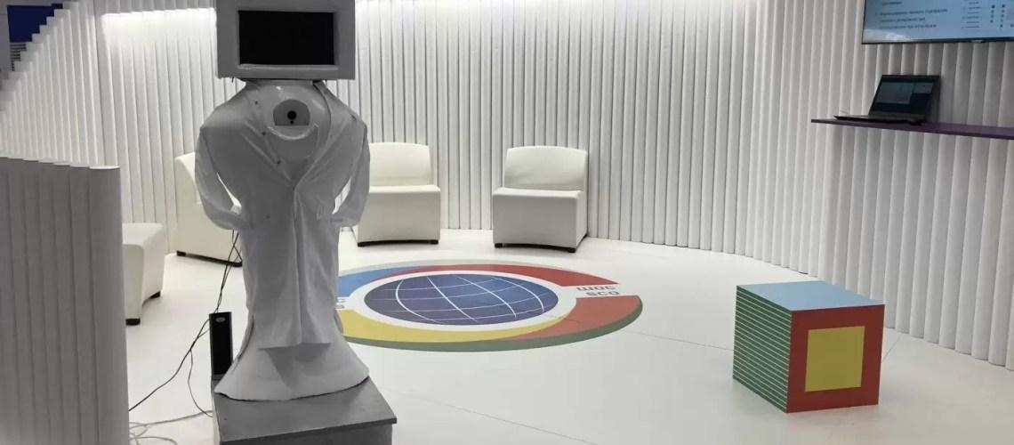 Первого в России робота-диагноста для детсадов презентовали на IT-форуме в Югре
