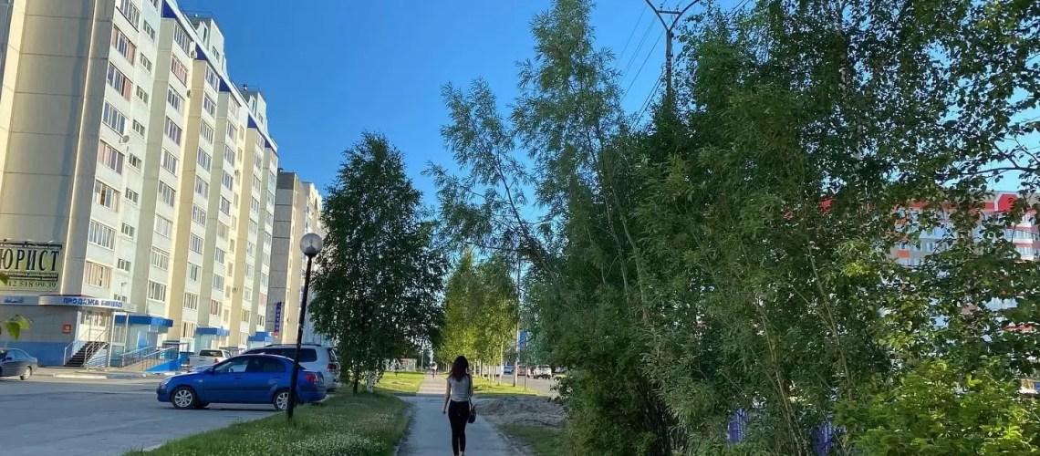Лето в Нефтеюганске