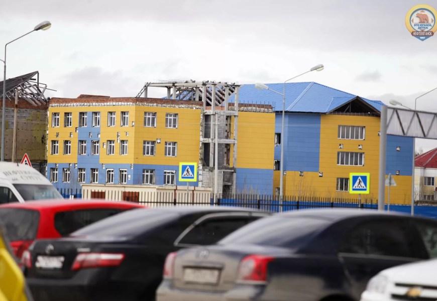 В Нефтеюганске завершат возведение садика-долгостроя.