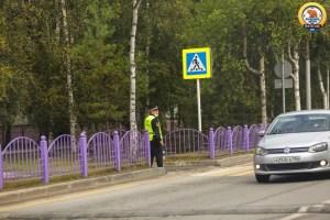 """Напоминаем что в Нефтеюганске проходит, окружная акция """"Внимание – дети!"""" по профилактике травматизма детей на дороге."""