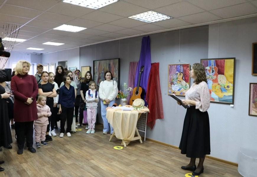 30 сентября в художественной галерее «Метаморфоза» состоялось открытие «Выставки одного натюрморта».