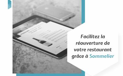Facilitez la réouverture de votre restaurant grâce à Sommelier