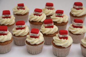 TNT Mini Cupcakes